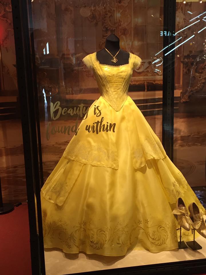 美女と野獣のベルのドレス